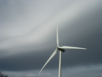 Wind turbine, Southern Arizona, Mar 2006