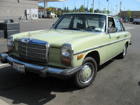 My old 1976 Mercedes 240 Diesel